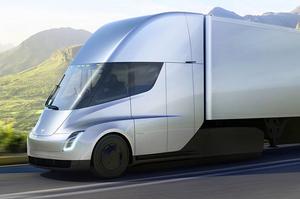 На страже экологии: мощная Tesla Semi