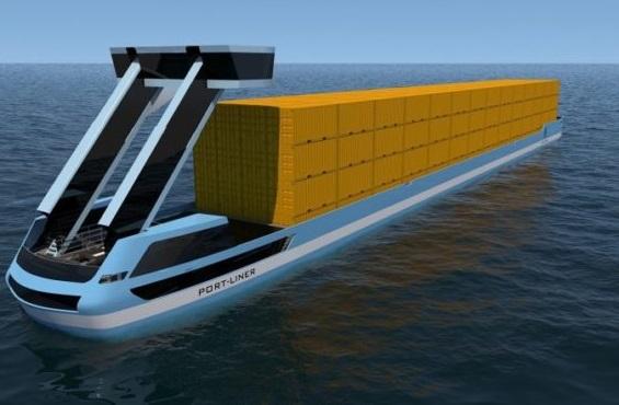 По європейських річках плаватимуть безпілотні вантажні електросудна