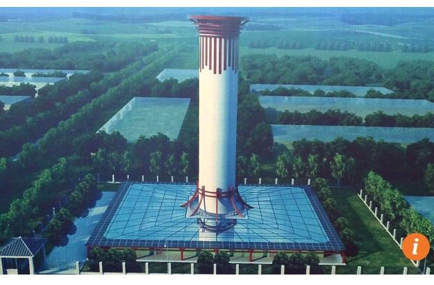 У Китаї стометрові очисні вежі рятуватимуть міста від смогу