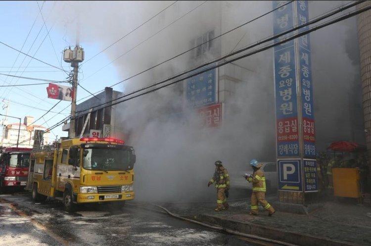 Масштабна пожежа в лікарні в Південній Кореї: загинула принаймні 41 людина