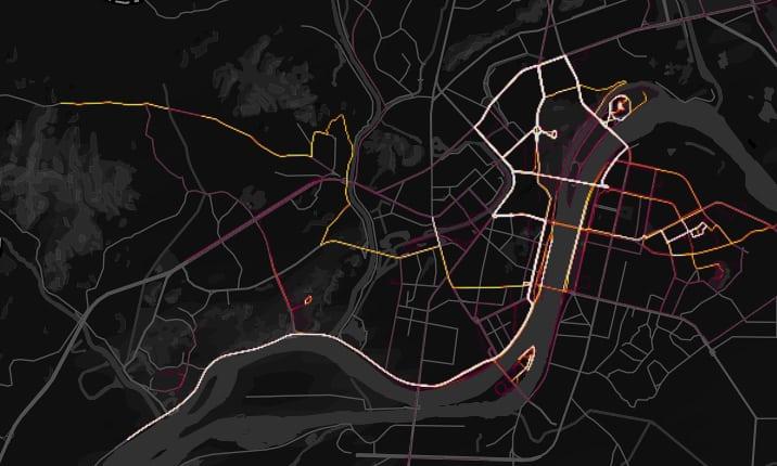 Фітнес-компанія, що опублікувала карту активності клієнтів, випадково видала секретні військові бази