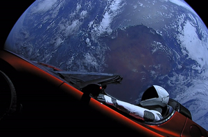 Машинку подано: як Tesla опинилася у космосі