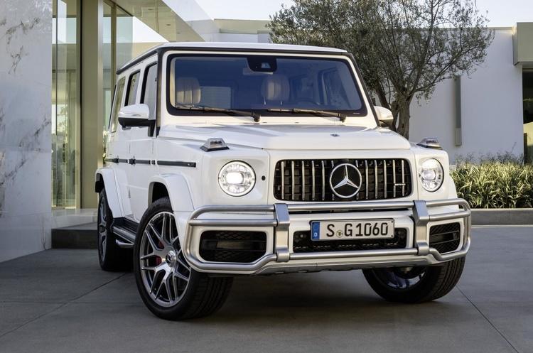 Mercedes показав свій новий Гелендваген G63