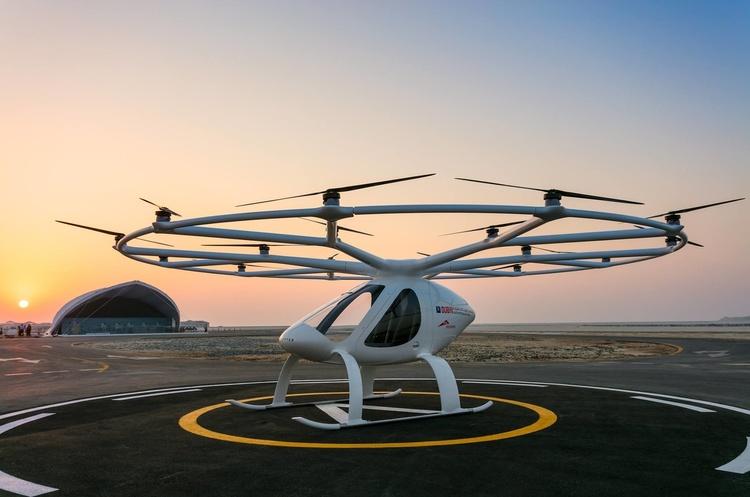 В Дубаї готуються запустити літаюче таксі, яке підніматиметься на висоту до 2 км
