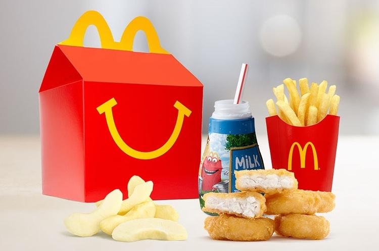 Mcdonald's вирішив змінити дитяче меню Happy Meal на більш здорове
