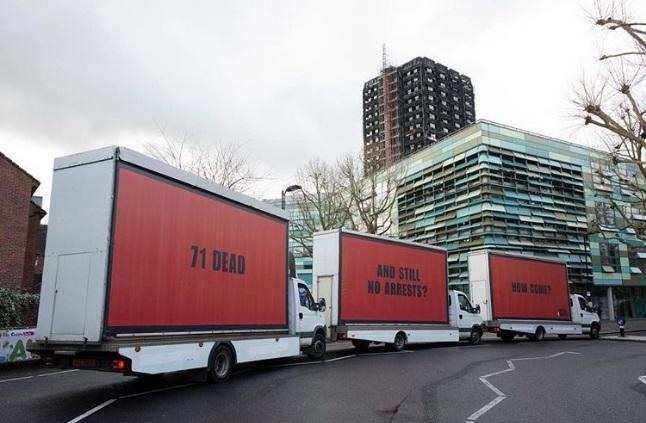 Три білборди за мотивами відомого фільму з'явилися в Лондоні