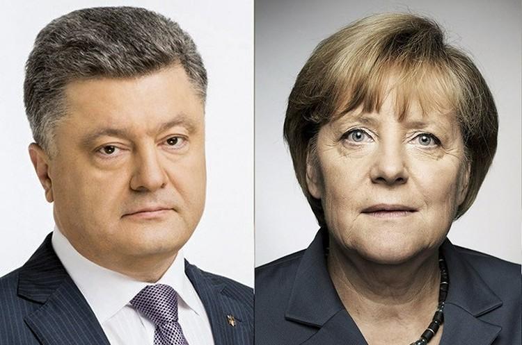Порошенко та Меркель обговорили питання миротворців на Донбасі
