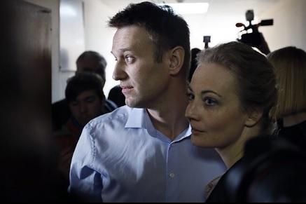 УМоскві затримали Навального, який виходив від стоматолога