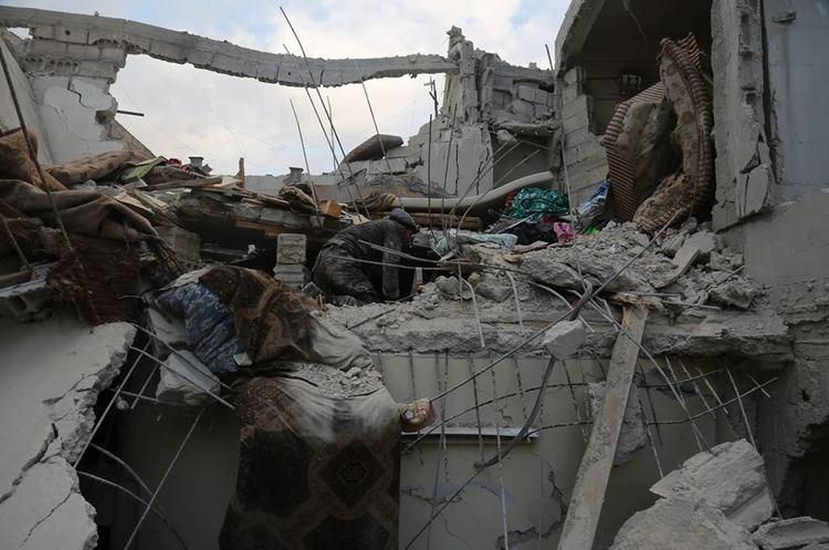 УСирії врезультаті авіанальоту загинули близько ста людей