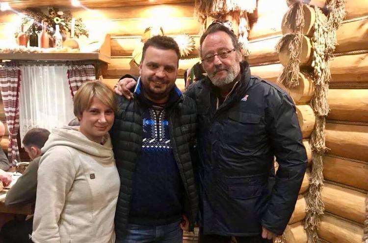 Жан Рено приїхав в Україну на зйомки нового фільму