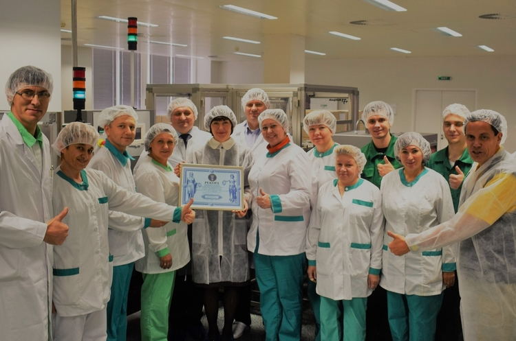 Фармацевтична фірма «Дарниця» встановила рекорд України
