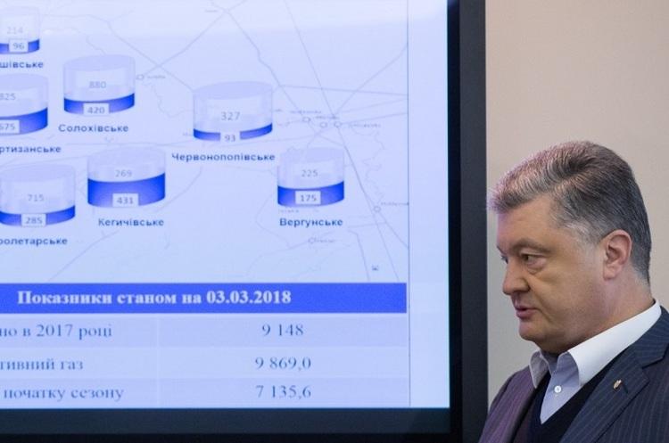Газова криза минула, ситуація стабілізувалася – Порошенко