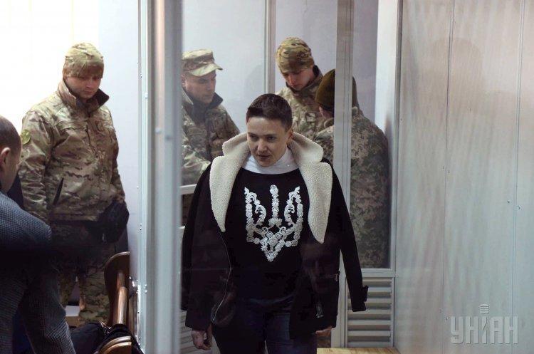 Савченко розповіла, щоробитиме у СІЗО