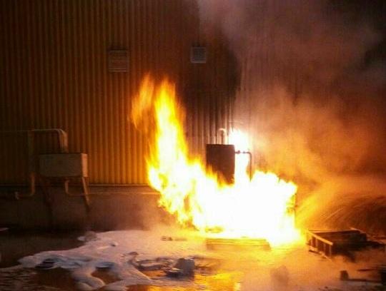 Пожежа: минулої ночі горів супермаркет у Запоріжжі