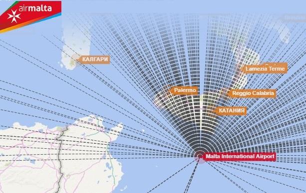 Авіакомпанія Air Malta планує відновити польоти з Мальти до Києва з 19 червня