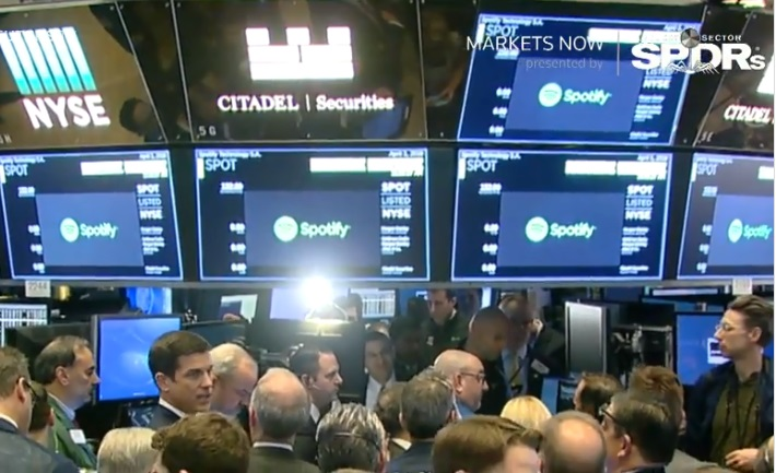 Новачкам щастить: музичний сервіс Spotify на біржі оцінили дорожче за Twitter і Snap