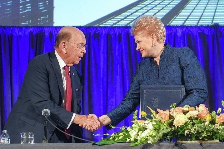 Литва допоможе постачати в Європу американський газ – Грибаускайте