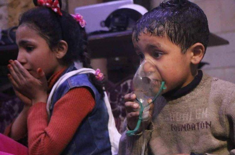 Хімічна атака в Сирії:  військами Асада убито понад 70 людей