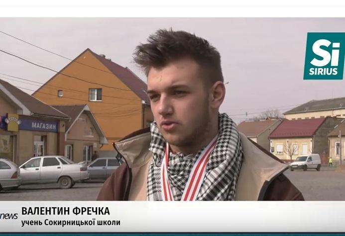 Український школяр придумав, як виготовляти папір з опалого листя, і їде на конкурс в США