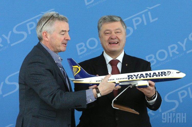 Ryanair вийде на ринок України попри неузгодженість з аеропортом «Бориспіль» - Омелян