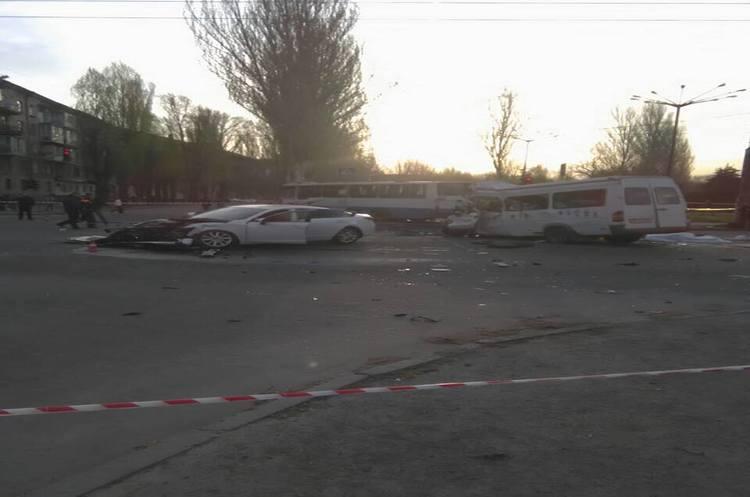 Внаслідок ДТП уКривому Розі загинуло 8 людей