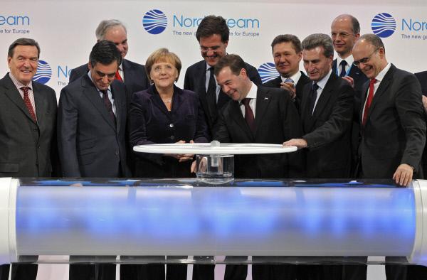 У Німеччині почалося будівництво «Північного потоку – 2»