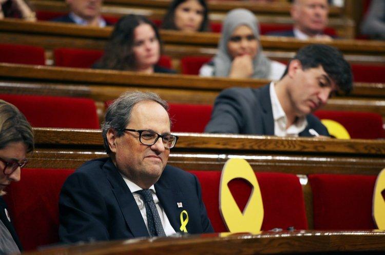 З перевагою в один голос новим головою Каталонії став відчайдушний прихильник незалежності та Пучдемона