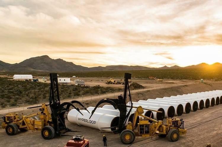 Місце для тестового майданчика Hyperloop обрано в Дніпрі