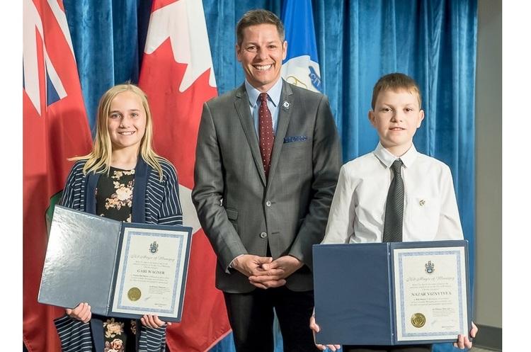 12-річний українець на один день став мером канадського міста Вінніпег