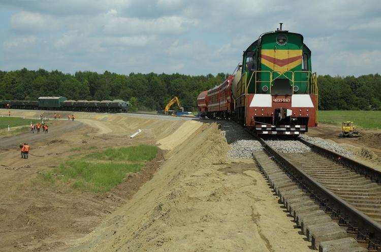 Виконано 25% робіт з будівництва залізниці до Борисполя