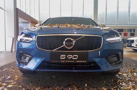Лимитированный поневоле: в Украине восстанавливаются продажи премиального седана Volvo S90