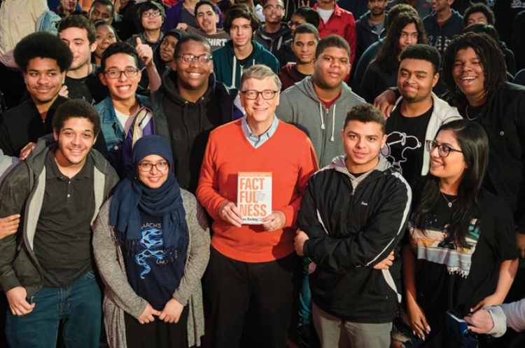 Білл-просвітитель: чим цікава подарована Біллом Ґейтсом усім американським випускникам книга