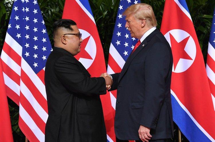 Трамп поділився враженнями від зустрічі з Кім Чен Ином