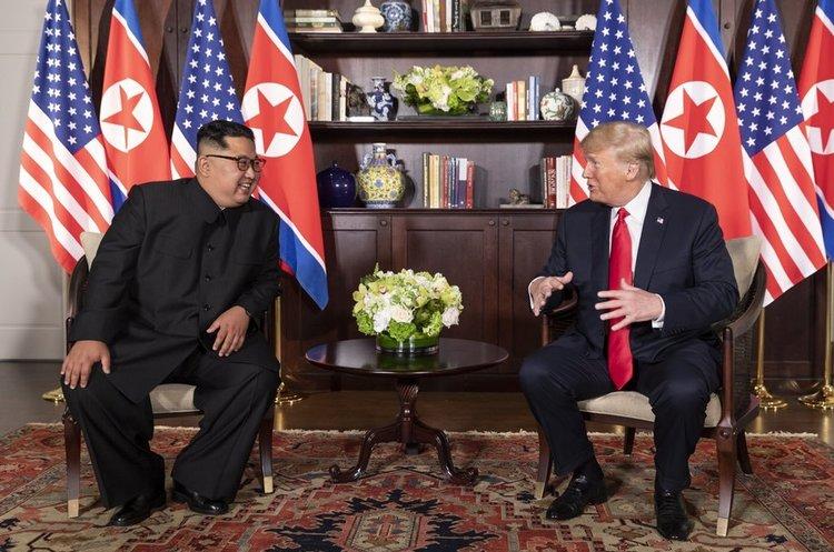 Після саміту з Кім Чен Ином Трамп сподівається на покращення відносин і з Іраном