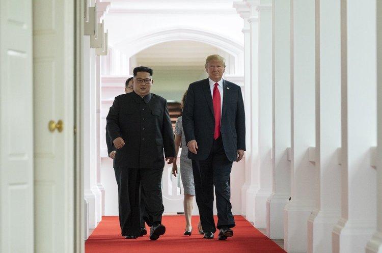 Трамп розповів на прес-конференції, про що домовився з Кім Чен Ином