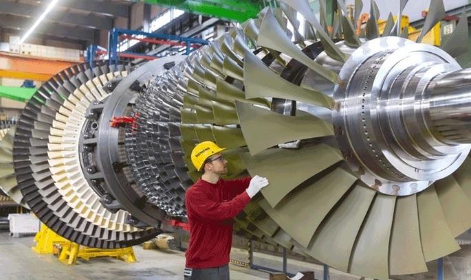 Siemens розглядає варіант продажу бізнесу із виробництва газових турбін