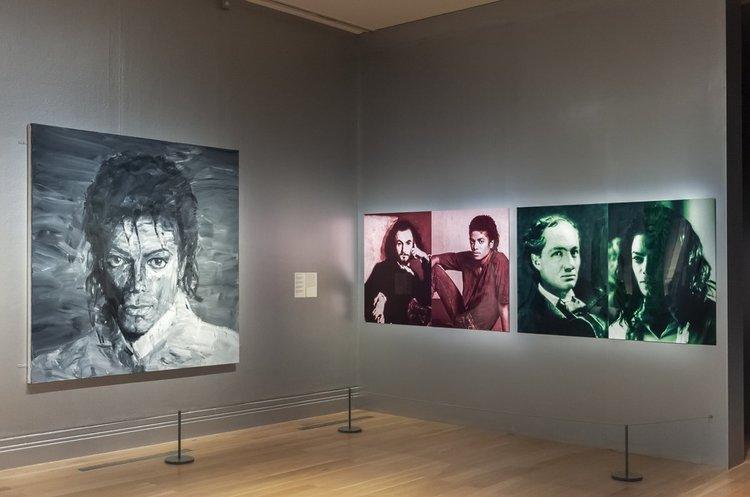 В Лондоні відкрилася масштабна виставка полотен, присвячених Майклу Джексону (ФОТО)