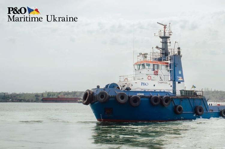 P&O Maritime Ukraine «зайшла» у порт Чорноморськ