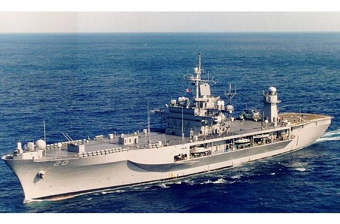 Флагман ВМС США увійшов у Чорне море для навчань з Україною