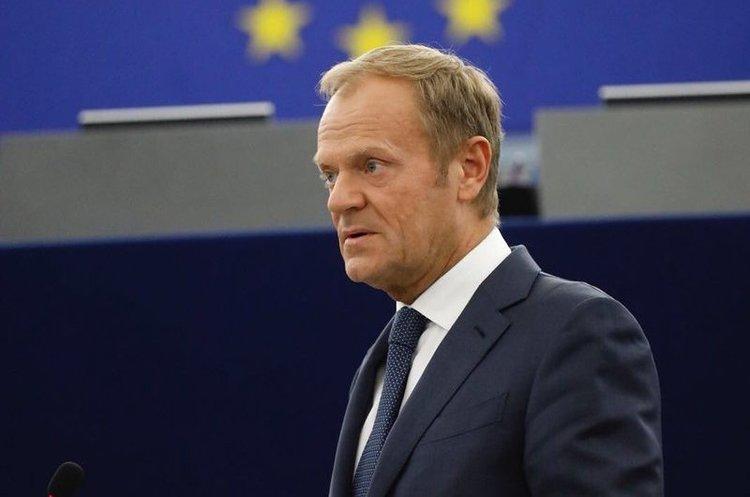 Президент Євроради шкодує, що Brexit «не пішов у відставку» разом із Джонсоном і Девісом