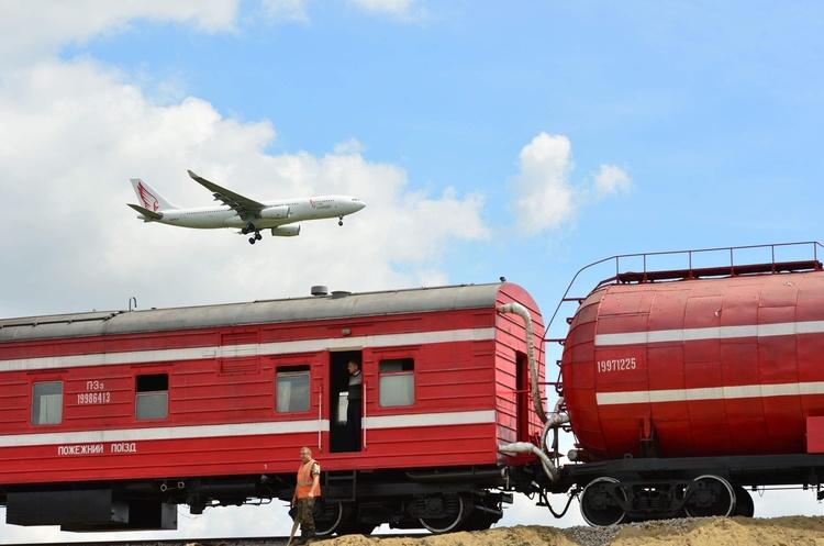 Залізничний шлях до Борисполя прокладено на третину