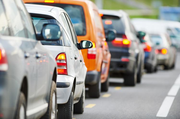 Власники автівок на єврономерах перекрили центр Києва