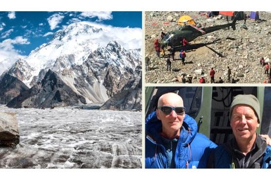 Альпініста, який зник високо в горах, вдалося врятувати за допомогою дрона (ВІДЕО)