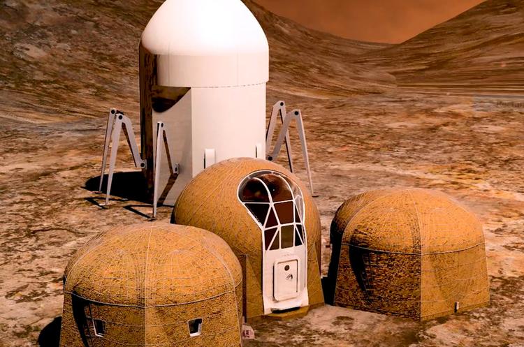 NASA обрала п'ять проектів житла на Марсі (ВІДЕО)