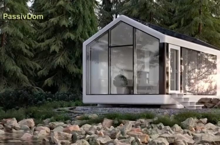 Перший автономний будинок українського PassivDom надрукують на 3D-принтері вже наприкінці серпня 2018 року