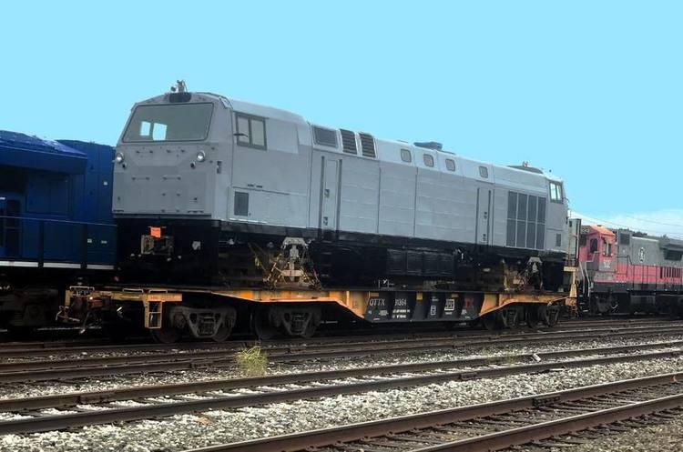 Перший локомотив «Тризуб» з Пенсильванії направляється в Україну