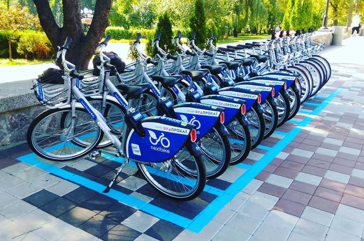 Nextbike запустив у Києві систему велопрокатів