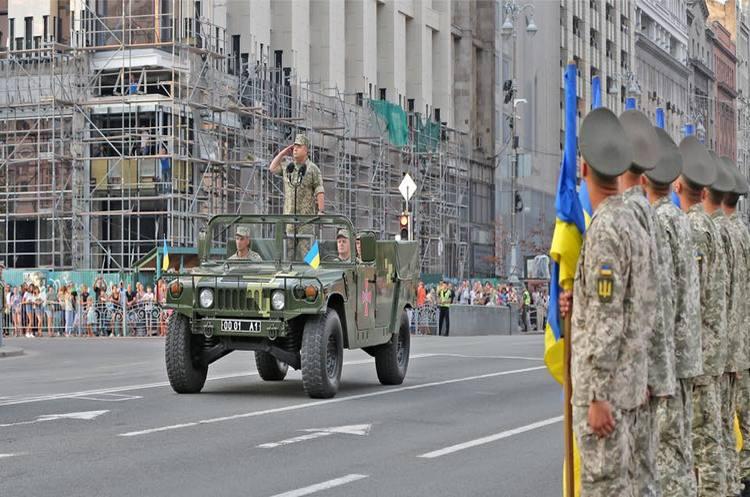 В параді до Дня незалежності візьмуть участь 18 іноземних делегацій