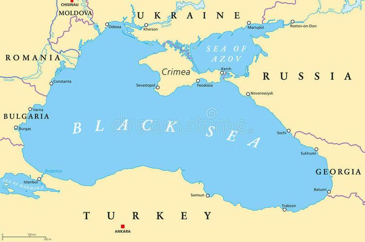 Росія затримала понад 150 суден, які йшли в українські морські порти – Держприкордонслужба
