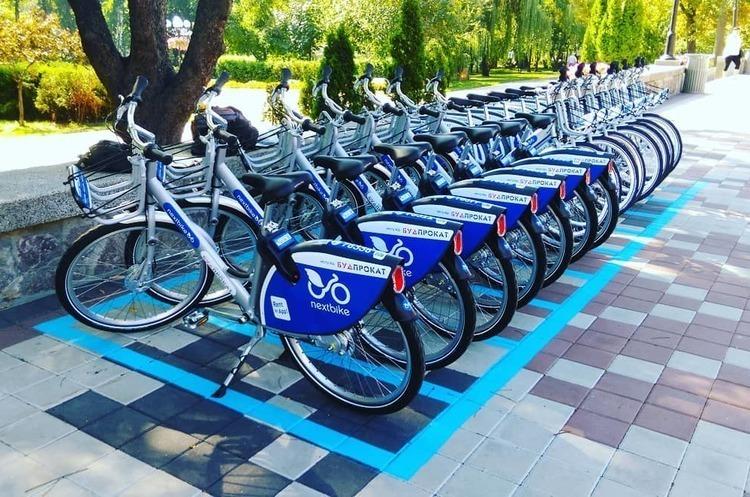 У Києві за 2 тижні роботи велопрокату Bike sharing украли 4 велосипеди